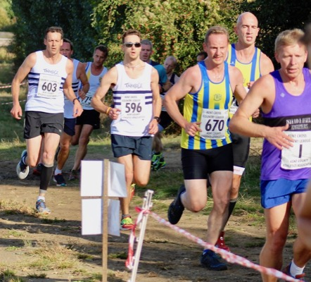 Kent XC league 15th Oct 2016